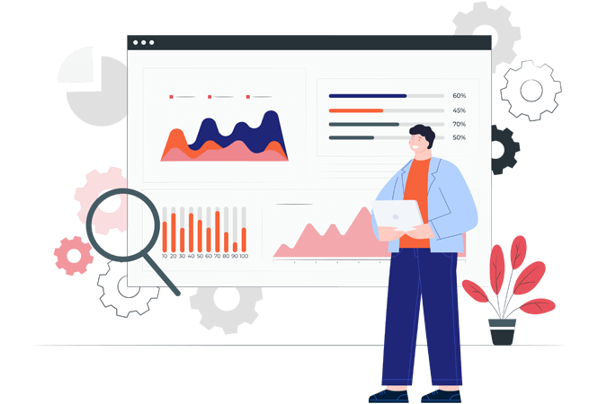 360° Visibility with insight-driven Dashboards