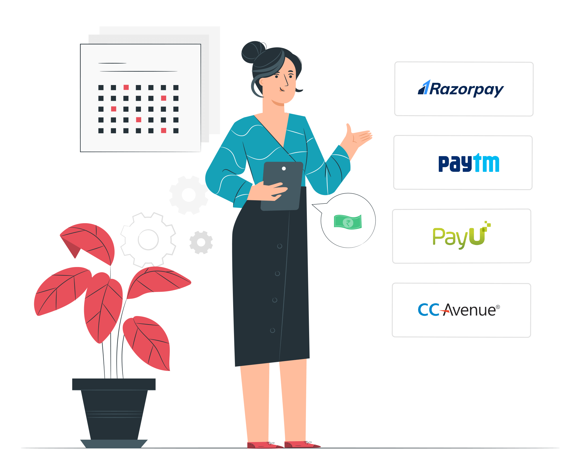 Multiple Payment Gateways