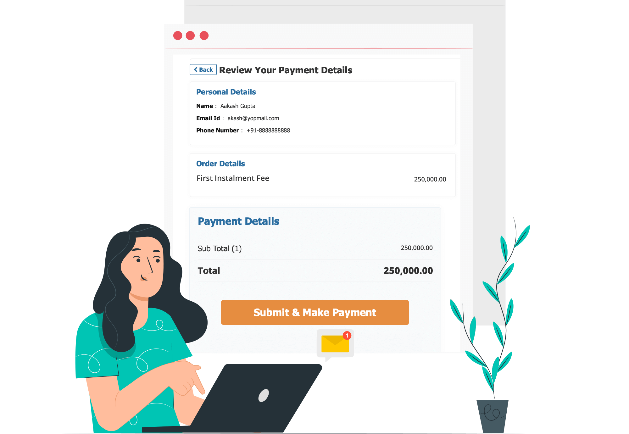 Make Admission Fee Payments Quick and Accessible