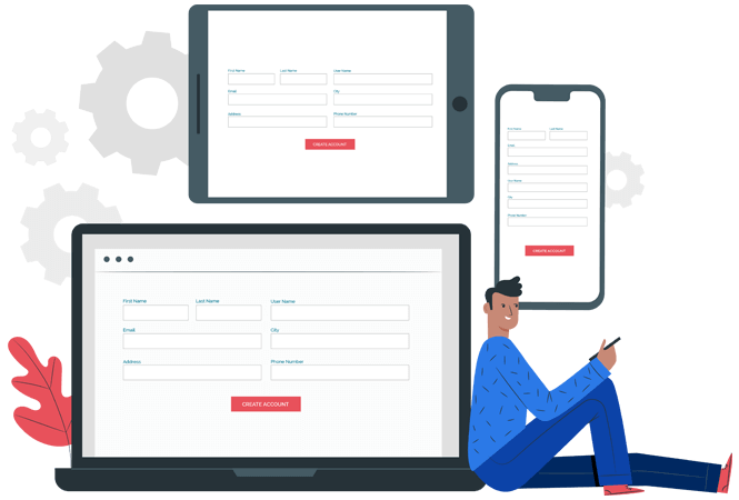 Create powerful forms with a drag and drop Form Builder