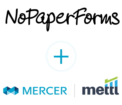 Seamlessly Integrate your Mercer | Mettl account with NoPaperForms