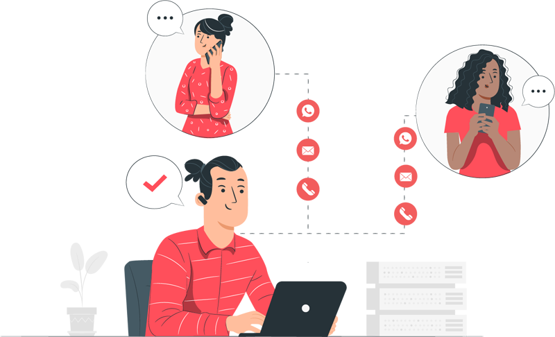 Ensure 360° engagement with lead nurturing system